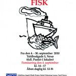 A4 plakat fisk